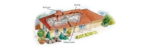 Ducted Evaporative Air Conditioning System